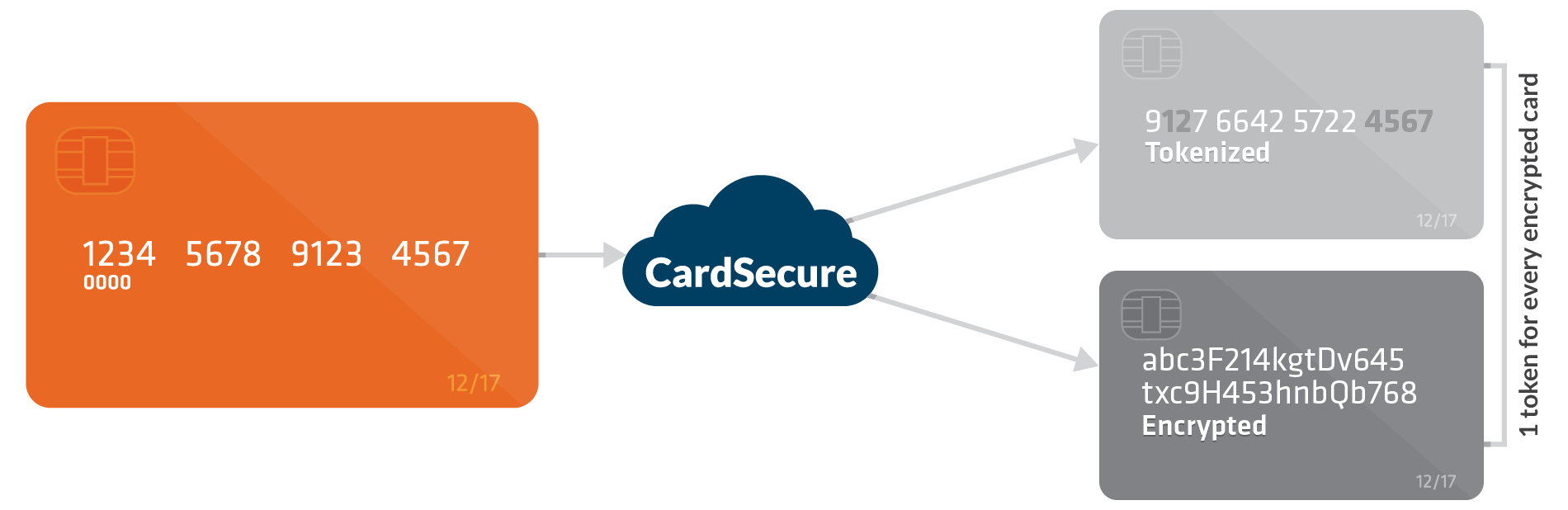 Smart Pay Card Data Security Encryption